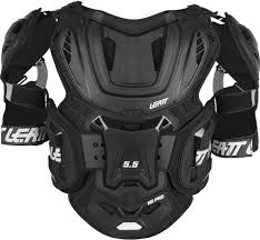 motocross safety gear leatt 5 5 pro hd chest protector motocross dirtbike offroad ebay