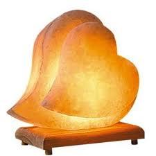 himalayan salt lamp ionic air purifier hand carved romantic heart