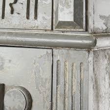 Schlafzimmerschrank Grau Kleiderschrank Antik Look Grau Schrank Wandschrank