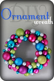 diy ornament wreath vanilla