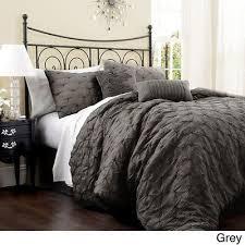 Grey Bedding Sets King Gray Comforter Sets King Jaylin 7 Pc Set Linens Grey Plaid Size