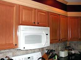 over range microwave no cabinet over the range microwave cabinet height over stove microwave over