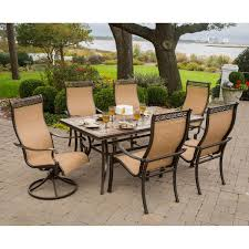 round outdoor dining table for with cool style in room inch sets