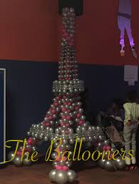Cheap Eiffel Tower Decorations Eiffel Tower Balloon Sculpture Pink U0026 Silver Balloons By Simeon