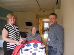 bayberry quilters of cape cod donates to hebrew senior care