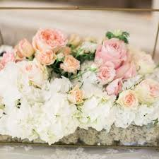 roses centerpieces blush wedding centerpieces