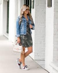 casual camo dress sneakers u0026 denim jacket u2013 christian blair style