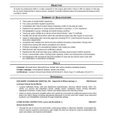 social work resume exle cover letter exle of social worker resume exle of resume for