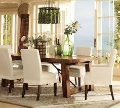 Kitchen Table Designs by Rustic Dining Table Design With Pottery Barn Extending Kitchen