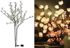 lighted branches lighted branches cherry blossom set of 3 antique farmhouse