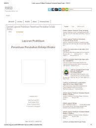 format laporan praktikum contoh laporan praktikum penentuan perubahan entalpi reaksi rinso