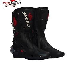 dirt bike motorcycle boots microfiber leather motorcycle boots men racing dirt bike boots knee