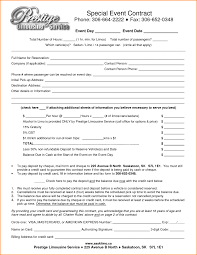 partnership contracts template with 11 event contract template