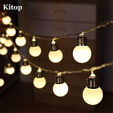 Bulb Lights String by Online Get Cheap Outdoor Led Globe String Lights Aliexpress Com