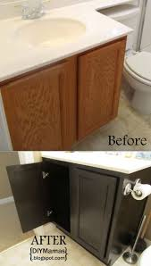Paint Bathroom Vanity Ideas by Best 10 Refinish Bathroom Vanity Ideas On Pinterest Painting