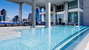 What Is A Hotel Wet Bar W Dallas Victory Wet Pool Rooftop Pool In Downtown Dallas
