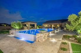 extraordinary luxury backyard ideas with amazing swimming pool and