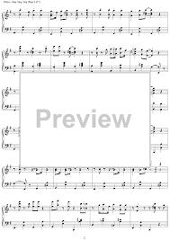 sing sing sing with a swing louis prima sing sing sing with a swing sheet for piano and more