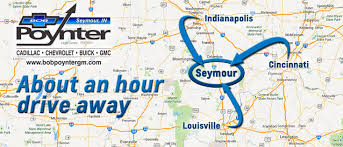 Columbus Zip Code Map by Columbus Seymour Chevrolet Buick Gmc Cadillac Bob Poynter Gm