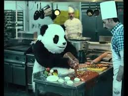 qui fait la cuisine le panda fou fait de la cuisine sentimancho