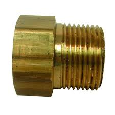 neoperl 55 64 in female x 3 4 in male solid brass hose adapter