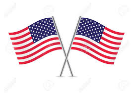 Flags Of The United States American Flags Flags Of Usa Illustration Royalty Free Cliparts