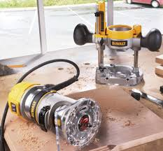 Fine Woodworking Compact Router Review by Tool Test Dewalt U0027s Compact Routers Popular Woodworking Magazine