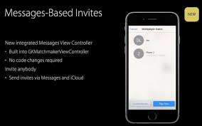 inside ios 10 with game center app gone invites are managed by