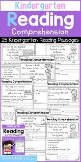 84 best kindergarten reading comprehension passages images on