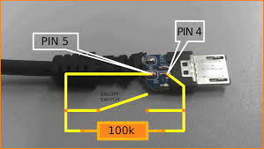 usb cable pinout colors wiring diagram components