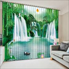Big Window Curtains Interiors Magnificent Beautiful Drapes And Curtains Waterfall
