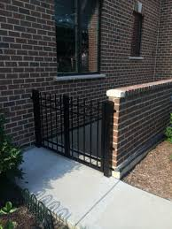 Garden Wall Railings by Chicago Gate Contractor Chicago Gate Repair