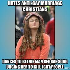 Anti Gay Marriage Meme - hates anti gay marriage christians dances to beenie man reggae