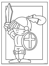 coloriages et activités à imprimer de la bretagne chevaliers