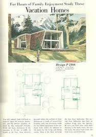Mid Century House Plans Vintage Midcentury A Frame Vacation Home House Plans Days Gone