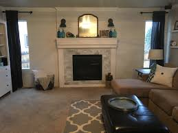 Lowes Outdoor Fireplace by Interior Elegant Family Room Design With Beige Paint Wall And
