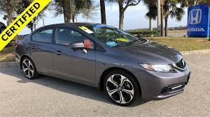 certified used 2014 honda civic si 4d sedan near orlando