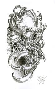 43 best biomechanical skull tattoo designs images on pinterest