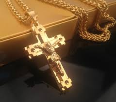 aliexpress com buy men u0027s hip hop rapper cool jesus christ cross
