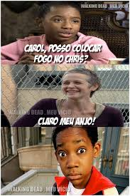 Carol Twd Meme - carol twd chris e tonya the walking dead by twdmeuvicio on deviantart