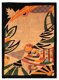vintage chinese art deco carpet bb4017 by doris leslie blau