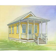 Katrina Cottages Shop Lowe U0027s Katrina Cottage Kc 308 Plan Set Of 6 Plans At Lowes Com