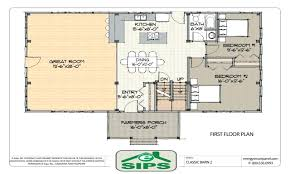 efficient open floor house plans concept kitchen planssmall small
