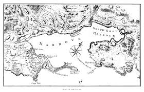 New France Map by Fiske New France And New England Map 4 Louisburg