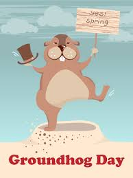 groundhog day cards yes groundhog day card birthday greeting cards by davia