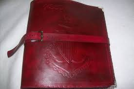 buy a custom made leather chief charge book made to order from