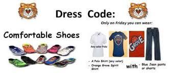 Comfortable Dress Code Aldine Isd Standarized Dress Code 2017 18 Orange Grove El
