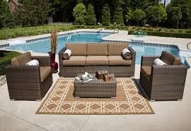 Pool And Patio Furniture Exterior Design Traditional Patio Design With Cozy Overstock