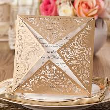 Wedding Invitation Folded Card Online Get Cheap Wedding Card Printing Aliexpress Com Alibaba Group
