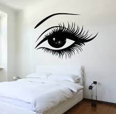dreamcatcher dream decal interior walls bedrooms and interiors vinyl decal wall decal woman s eyes sexy girl bedroom sticker z3223